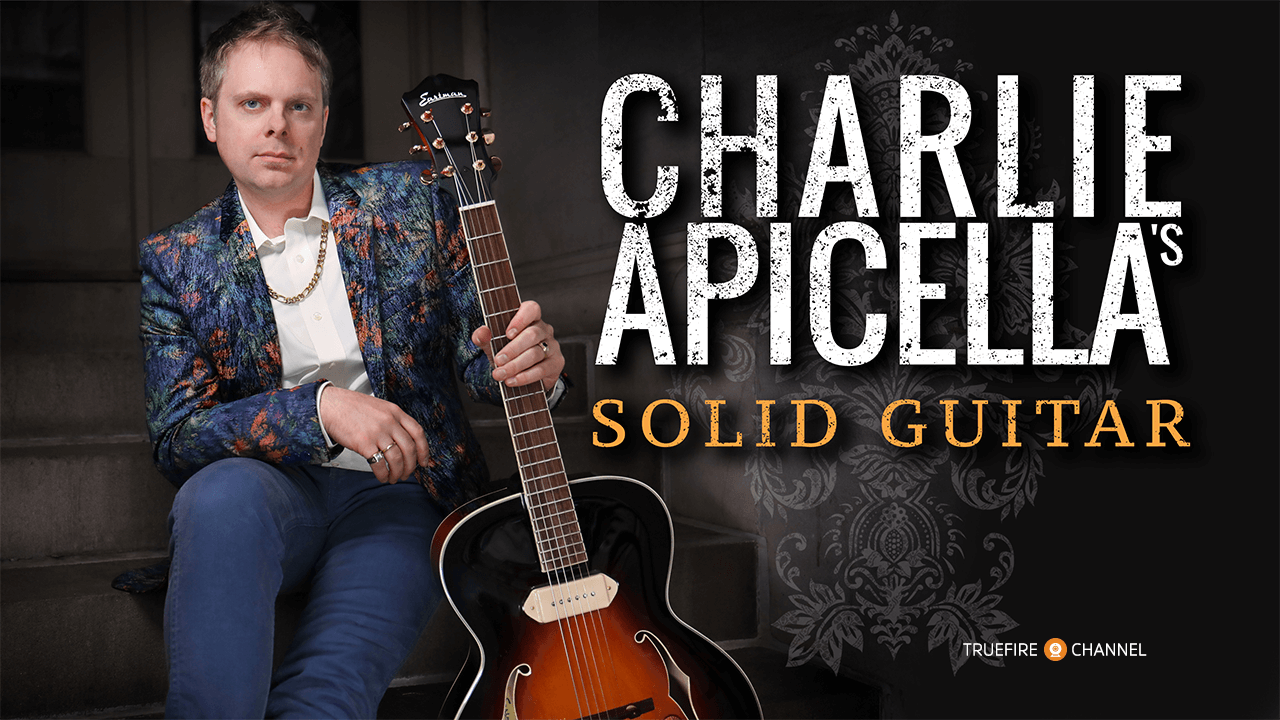 Charlie Apicellas Solid Guitar Channels Truefire How To Read Chord Diagrams Self Taught Lessons